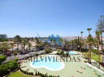Apartamento centrico con vista mar en Playa del Inglés (let2380)