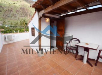 Apartamento con azotea en Fataga (a508)